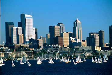 Seattle Sail boats